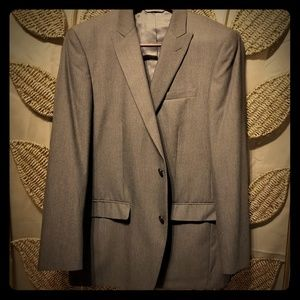 Joe Joseph Abboud 2 piece Gray Suit 42L|38W●32L